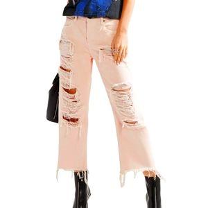 Alexander Wang Distress Jeans